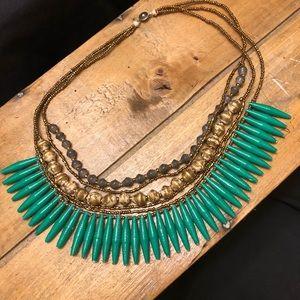 Handmade 31-Bits multi strand necklace